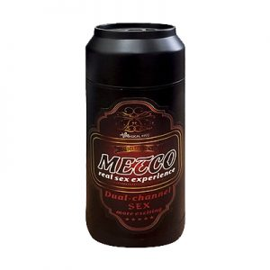 Âm đạo giả Magical Kiss - màu Black hình lon bia