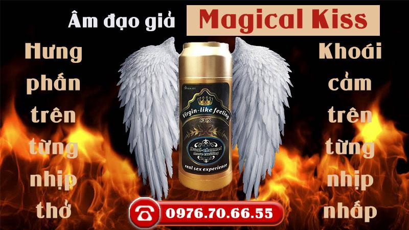 Âm đạo giả Magical Kiss - màu Gold