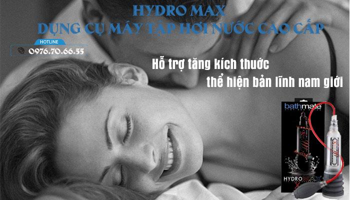 Máy Tập Hydro Max – Dụng Cụ Hơi Nước Cao Cấp