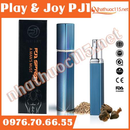 Play & Joy PJ1 xịt chống xuất tinh sớm