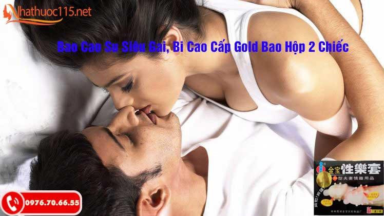 Bao Cao Su Siêu Gai, Bi Cao Cấp Gold