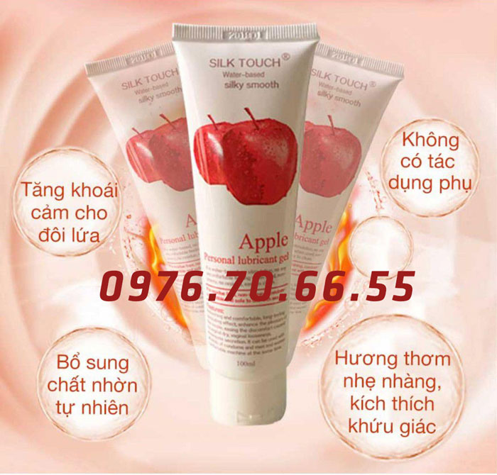 Gel bôi trơn Silk Touch Apple