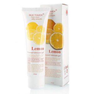 Gel bôi trơn Silk Touch Lemon - hương chanh dễ chịu