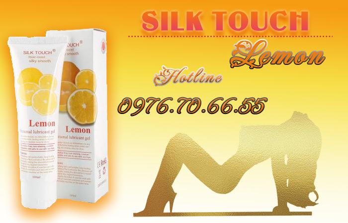 Gel bôi trơn Silk Touch Lemon