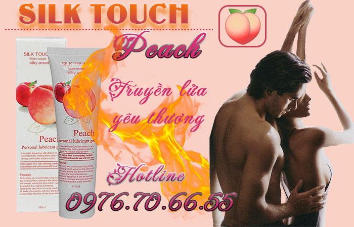 Gel bôi trơn Silk Touch Peach