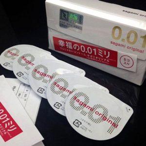 Bao Cao Su Siêu Mỏng Nhất Hiện Nay Sagami Original 0.01mm