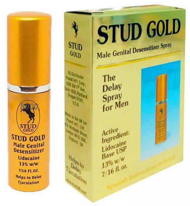 Xịt Chống Xuất Tinh Sớm Stud Gold