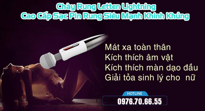 Công dụng Chày Rung Letten Lightning