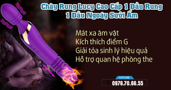 Công dụng Chày Rung Lucy