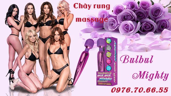 Chày rung massage Bulbul Mighty