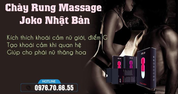 Công dụng Chày Rung Massage Joko