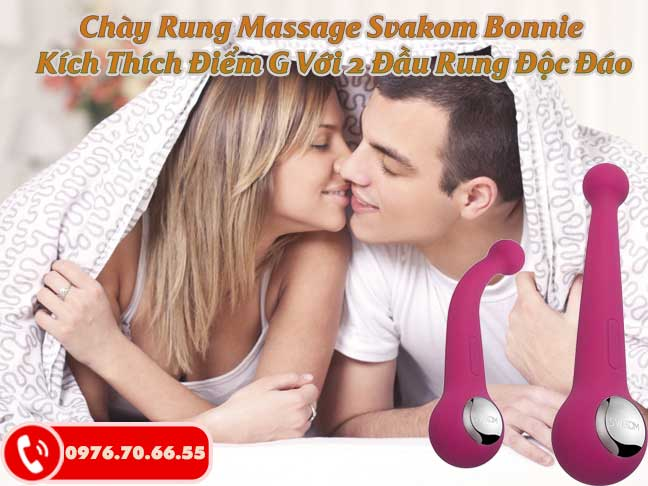 Chày Rung Massage Svakom Bonnie