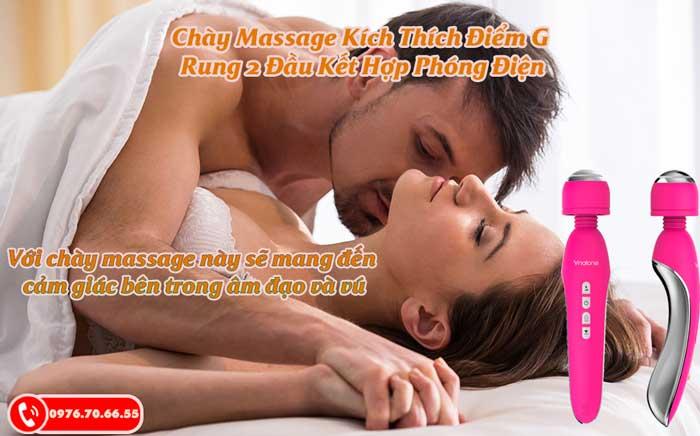 Chày Massage kích thích điểm G