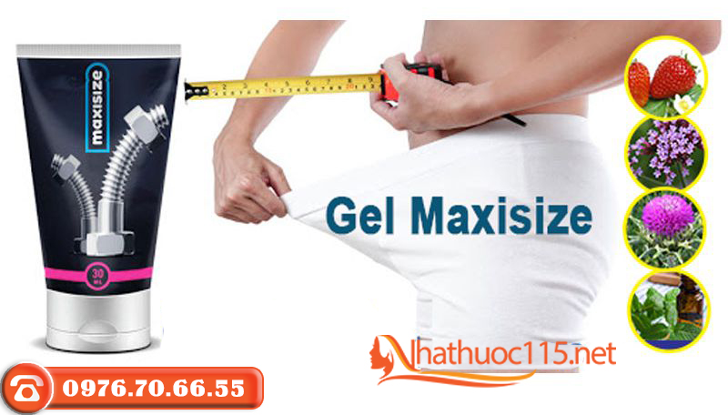 Thành phần Gel tăng kích thước dương vật Maxisize