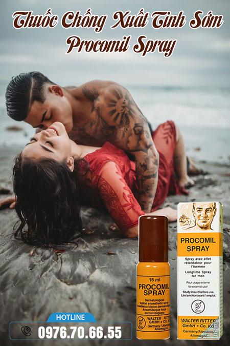 Thuốc Chống Xuất Tinh Sớm Procomil Spray