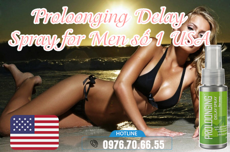ưu điểm Proloonging Delay Spray for Men số 1 USA