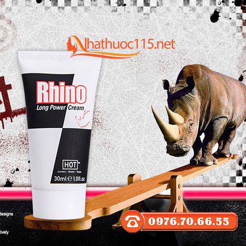 Kem tê giác kéo dài thời gian Rhino - hàng Áo