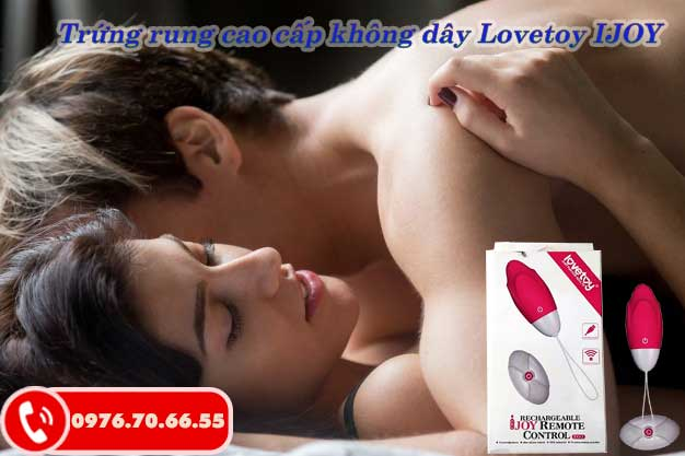 Trứng rung Lovetoy IJOY