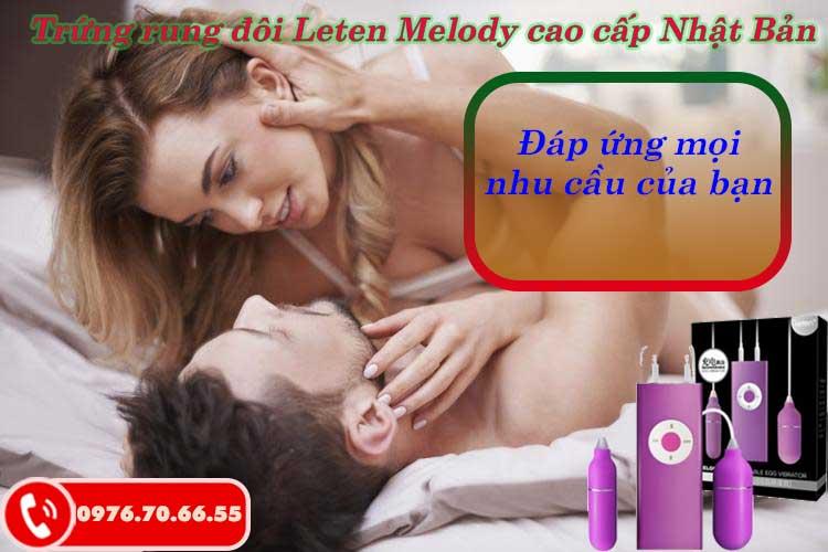 Trứng rung đôi Leten Melody