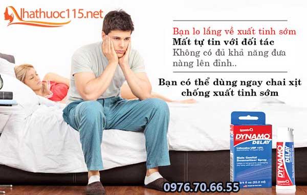 thuốc xịt chống xuất tinh sớm