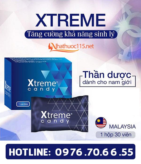 Kẹo sâm Xtreme - tăng cường sinh lý nam hiệu quả