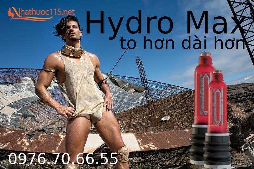 Hydromax - Máy tập hơi nước cải thiện kích cỡ cậu nhỏ tự động