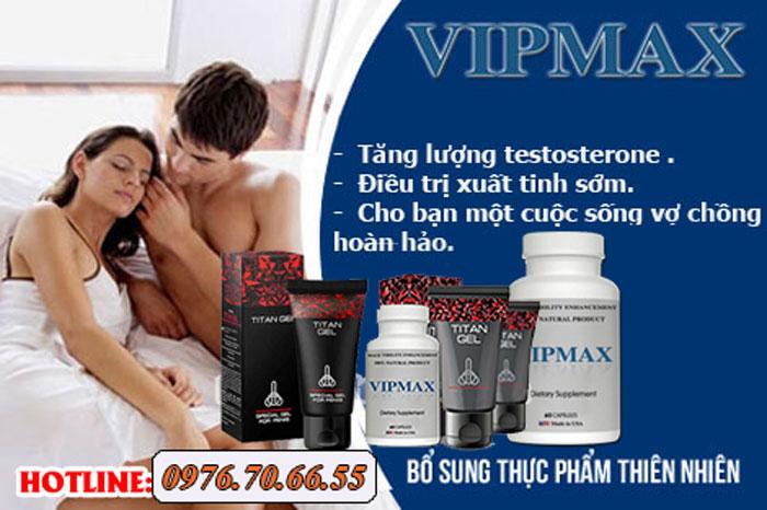 Công dụng của gel titan nga và vipmax