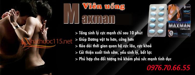 Viên Uống Maxman