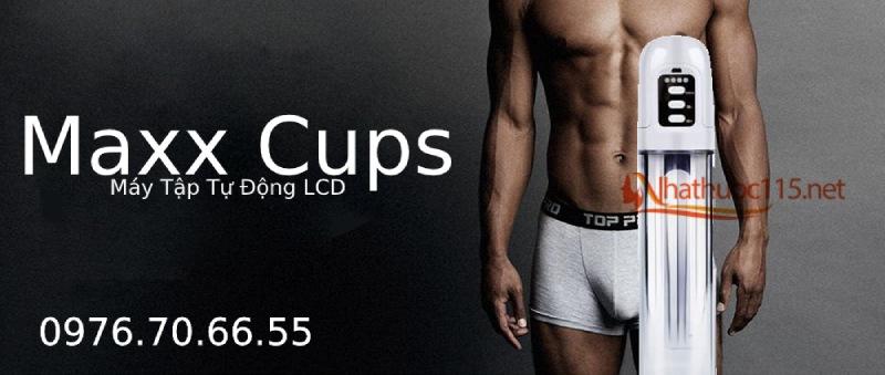 Maxx Cups - Máy Tập Tự Động LCD Cải Thiện Cỡ Cậu Nhỏ