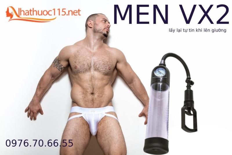 MEN VX2 - Máy tập cải thiện kích cỡ cậu nhỏ mới nhất 2020