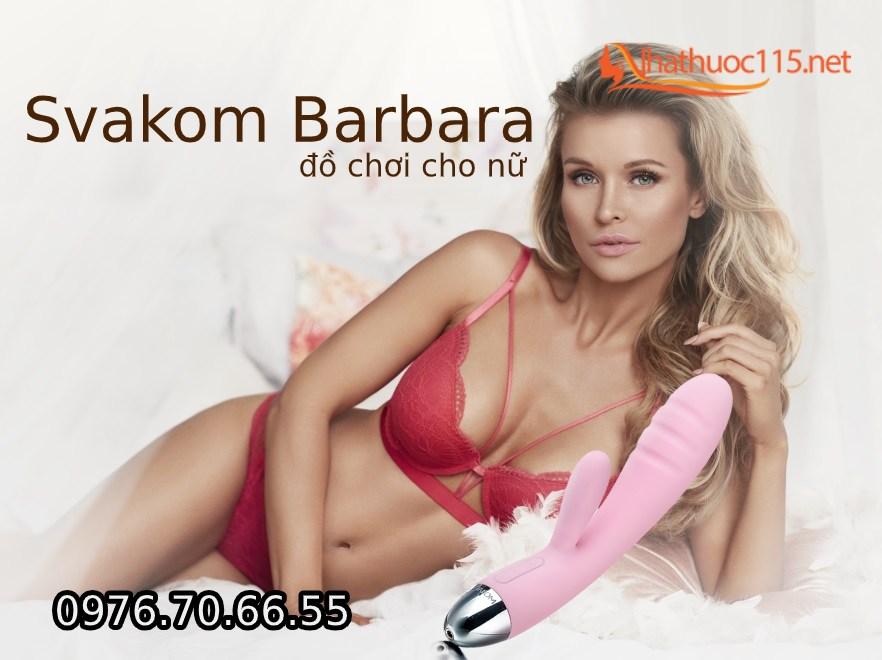 Svakom Barbara máy rung động cơ rung kép