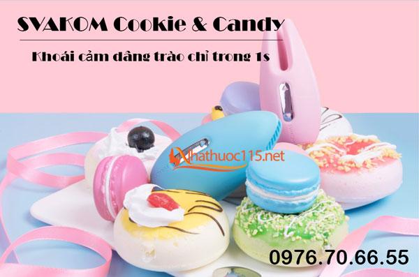SVAKOM Cookie & Candy