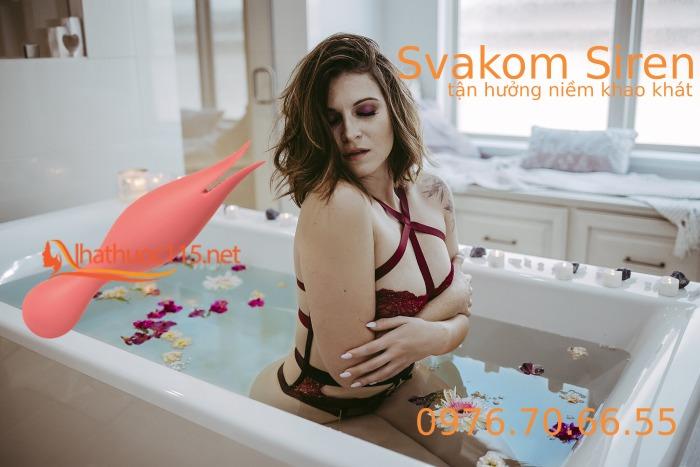 Svakom Siren - Lưỡi đôi rung cường độ cao kích thích phụ nữ