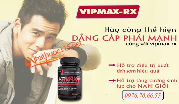 Thông tin sản phẩm Vipmax-Rx và Gel Maxman