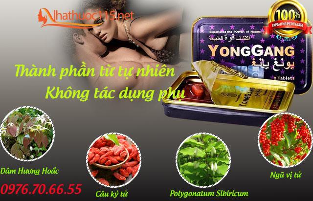 Viên Uống Cường Dương Yonggang