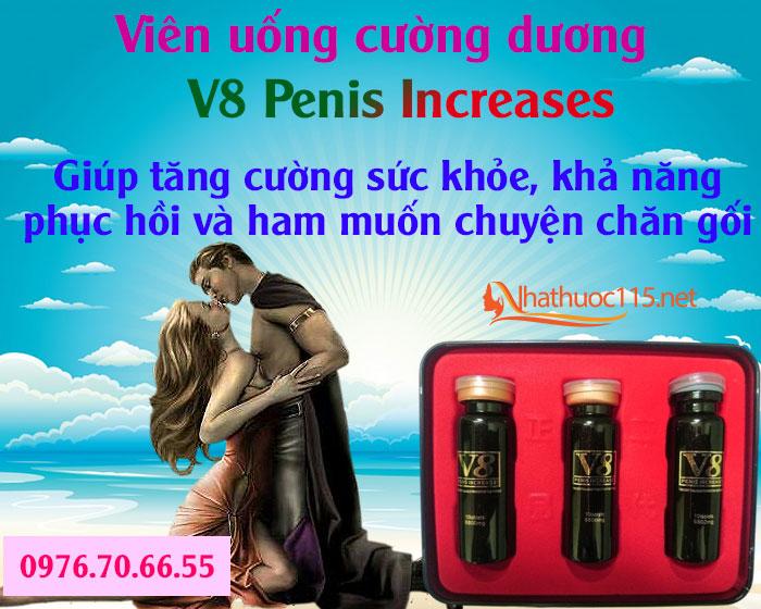 V8 Penis Increases