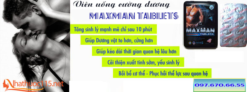 Maxman tablets